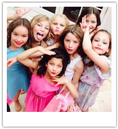 Makeover and make up beauty parties are suitable for girls, kids, teenagers and childrens birthday parties in London.