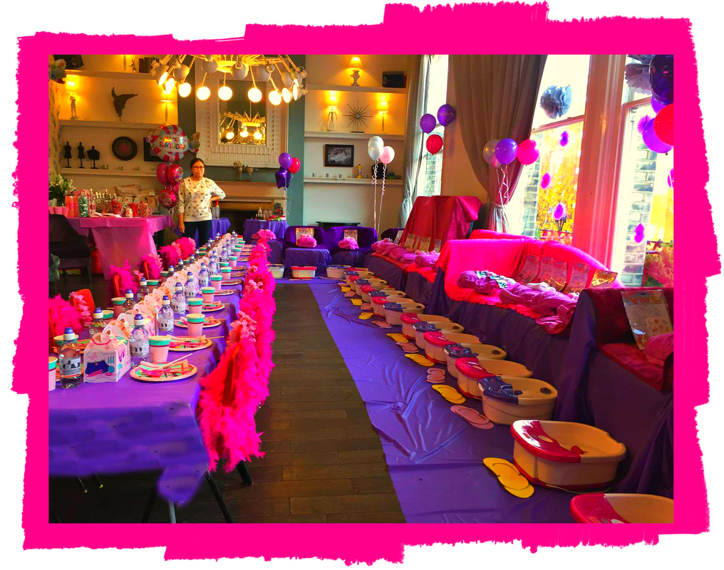 Girls Pamper Parties Surrey Teen Spa Kids Makeover