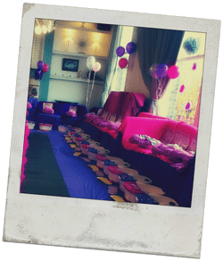 Pamper and spa parties for groups of 20 girls or more in London.