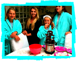 girls pampering parties regents park