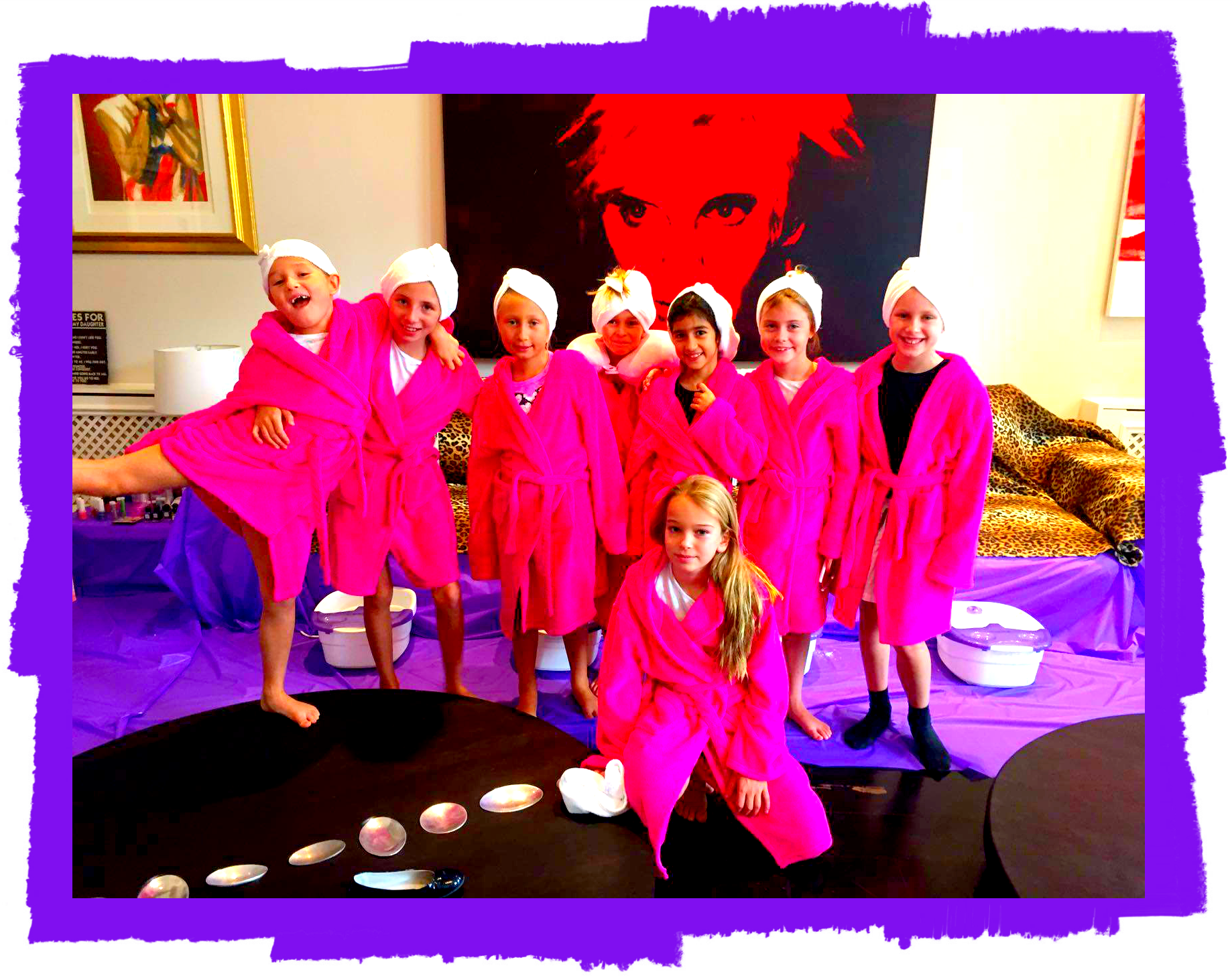 Kids Spa Parties Teen Spa Party Childrens Spa Parties London UK - Childrens birthday party ideas in london