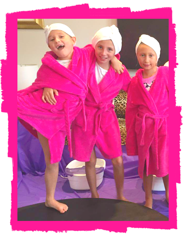 Girls Pamper Parties London Kids Spa Parties London Teen - Childrens birthday party ideas in london
